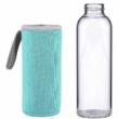 SMOOTHIE üveg világos kék 500ml