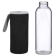 SMOOTHIE üveg fekete 500ml