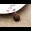 Barna obszidián csepp ásvány medál
