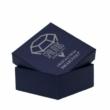 Swarovski® kristályos ékszerszett - Szív 18 mm,  Siam + díszdoboz