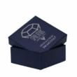 Swarovski kristályos ékszerszett - Oval 18 mm, Silver Night + díszdoboz