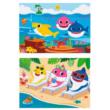 2x20 db-os puzzle Baby Shark