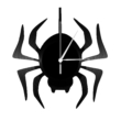 Bakelit falióra pók