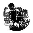 No pain no gain bakelit óra