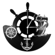 Hajós bakelit falióra
