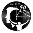 Bakelit óra 40 felett férfi