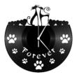 Bakelit óra - Macskapár