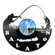 Bakelit óra - Balatoni horgász
