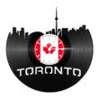 Bakelit falióra - Toronto