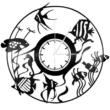 Bakelit falióra - halak