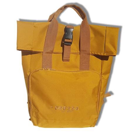 Dressa Rolltop hátizsák - mustársárga