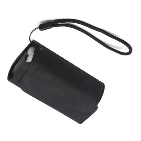 IQOS 3.0 műbőrtok heets tartóval - fekete