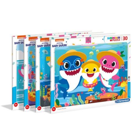 30 db-os puzzle Baby Shark