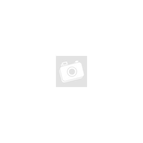 Sárga cirkónia kristályos, kocka alakú fülbevaló ékszer