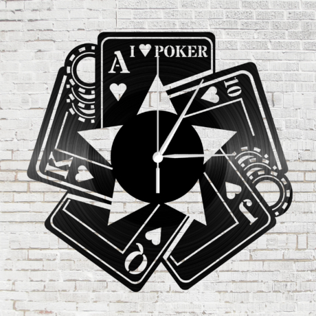 Bakelit falióra - Póker