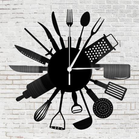 Bakelit óra - Konyhai eszközök