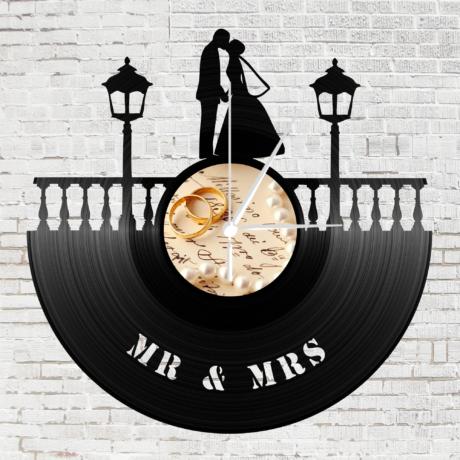 Bakelit óra - Mr. és Mrs.