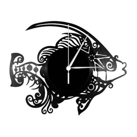 Bakelit falióra - Egzotikus hal